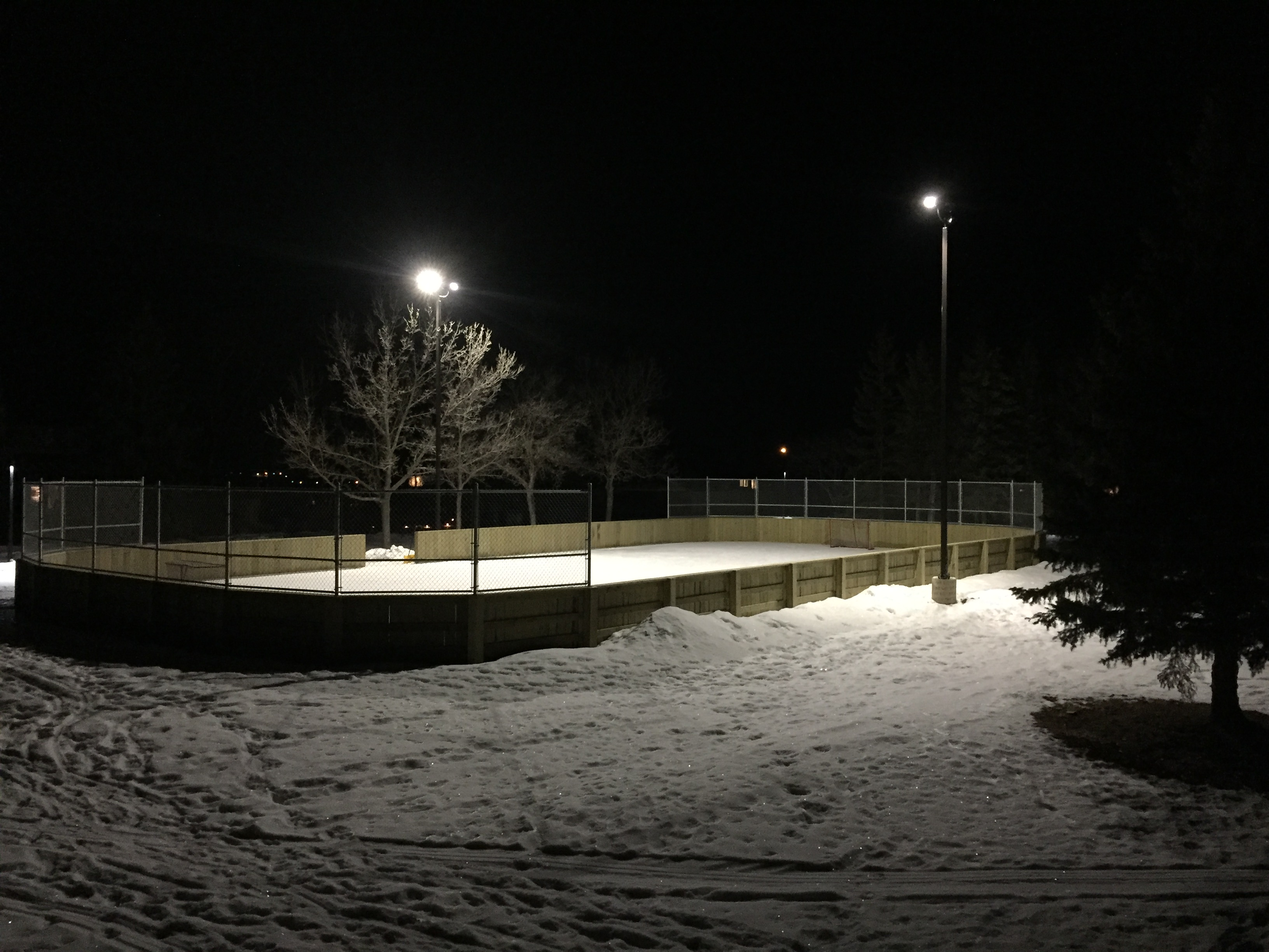 Silver Heights Park Outdoor Rink