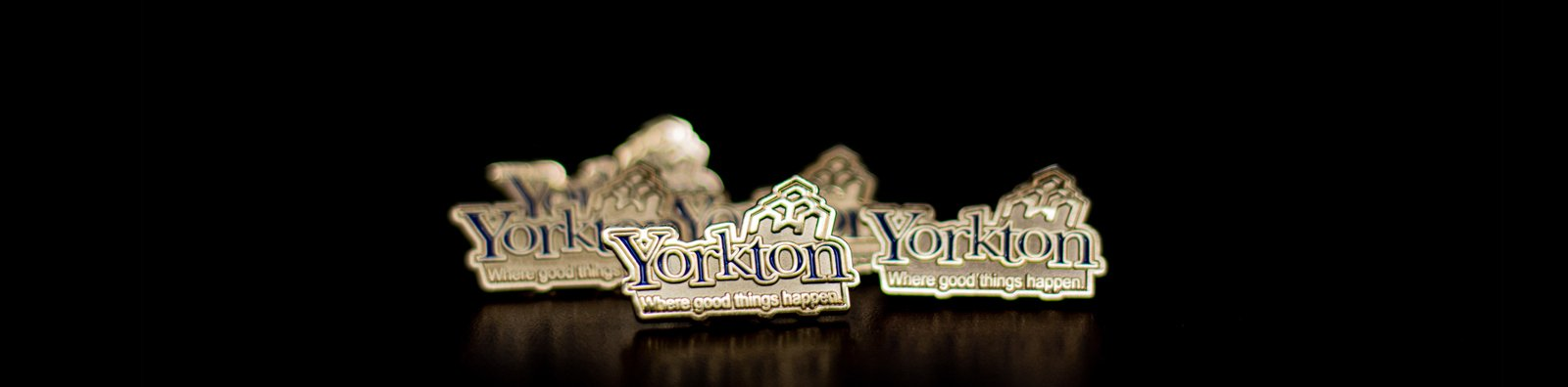 lapel pins for the City of Yorkton